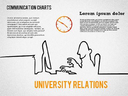Communication Chart, Slide 2, 01420, Business Models — PoweredTemplate.com