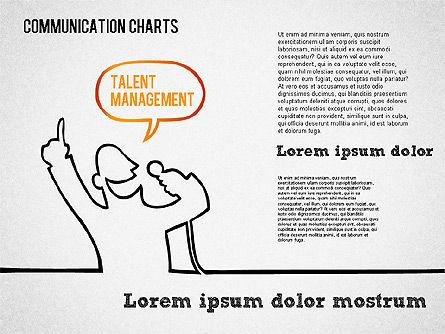 Communication Chart, Slide 3, 01420, Business Models — PoweredTemplate.com