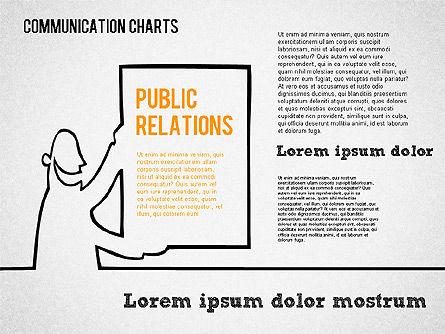 Communication Chart, Slide 5, 01420, Business Models — PoweredTemplate.com