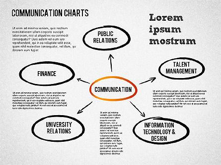 Communication Chart, Slide 6, 01420, Business Models — PoweredTemplate.com