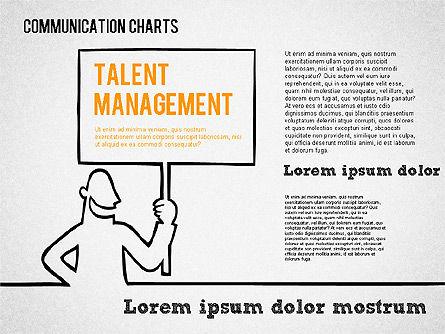 Communication Chart, Slide 7, 01420, Business Models — PoweredTemplate.com