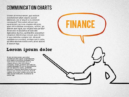 Communication Chart, Slide 8, 01420, Business Models — PoweredTemplate.com
