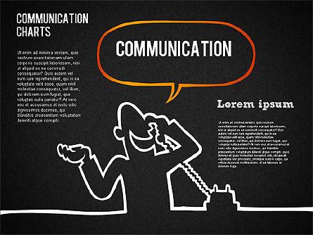 Communication Chart, Slide 9, 01420, Business Models — PoweredTemplate.com