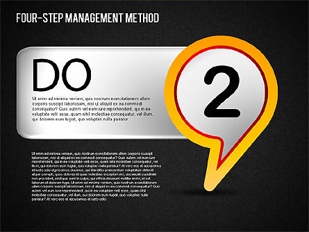 Four-Step Management Method, Slide 14, 01421, Business Models — PoweredTemplate.com
