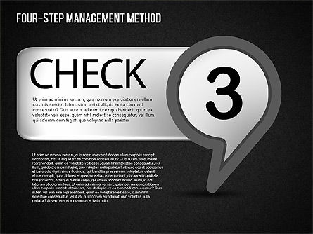 Four-Step Management Method, Slide 15, 01421, Business Models — PoweredTemplate.com