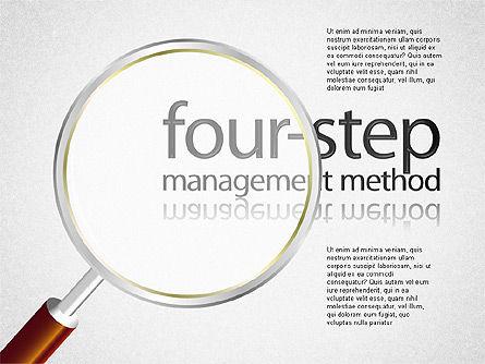 Four-Step Management Method, Slide 2, 01421, Business Models — PoweredTemplate.com
