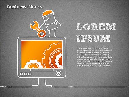 TV Target Audience Shapes, Slide 12, 01424, Business Models — PoweredTemplate.com