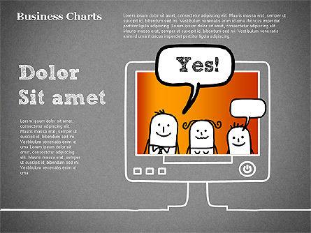 TV Target Audience Shapes, Slide 14, 01424, Business Models — PoweredTemplate.com