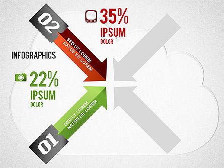 Cloud Computing Infographics, Slide 2, 01425, Presentation Templates — PoweredTemplate.com