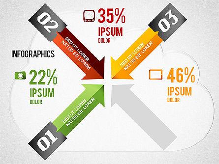 Cloud Computing Infographics, Slide 3, 01425, Presentation Templates — PoweredTemplate.com