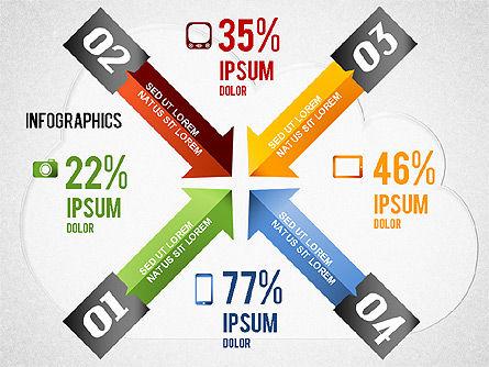 Cloud Computing Infographics, Slide 4, 01425, Presentation Templates — PoweredTemplate.com
