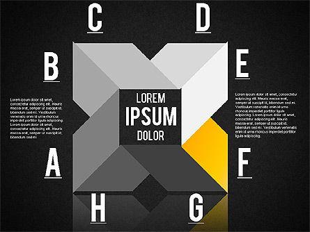 Origami Style Shapes, Slide 11, 01427, Process Diagrams — PoweredTemplate.com