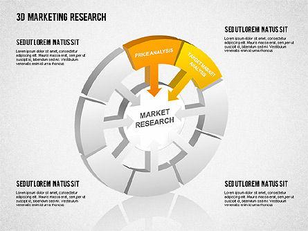 3D Marketing Research, Slide 2, 01429, Business Models — PoweredTemplate.com