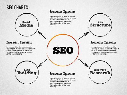 Search Engine Optimization Diagram, Slide 2, 01431, Process Diagrams — PoweredTemplate.com