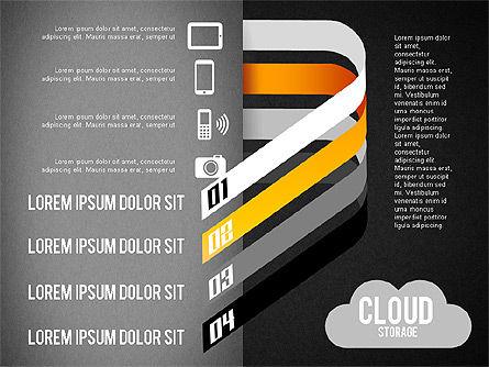 Cloud Storage Infographics, Slide 11, 01433, Business Models — PoweredTemplate.com