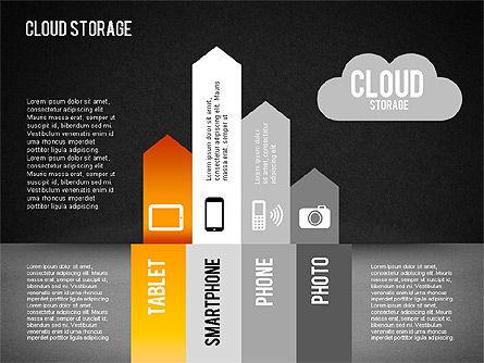 Cloud Storage Infographics, Slide 13, 01433, Business Models — PoweredTemplate.com