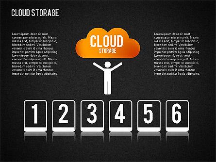 Cloud Storage Infographics, Slide 14, 01433, Business Models — PoweredTemplate.com
