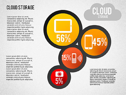 Cloud Storage Infographics, Slide 6, 01433, Business Models — PoweredTemplate.com