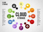 Business Models: Cloud Storage Infographics #01433