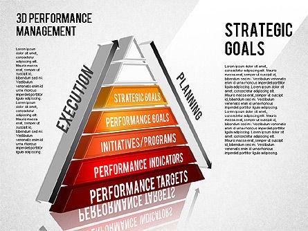 3D Performance Management Diagram, Slide 10, 01434, Business Models — PoweredTemplate.com