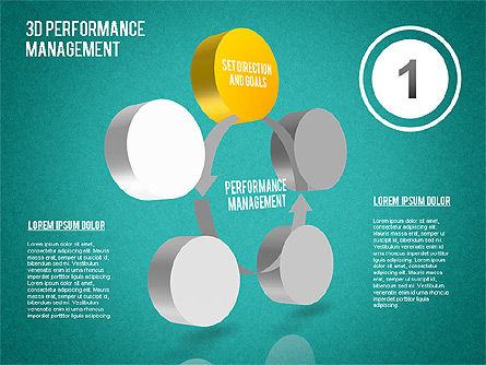 3D Performance Management Diagram, Slide 13, 01434, Business Models — PoweredTemplate.com