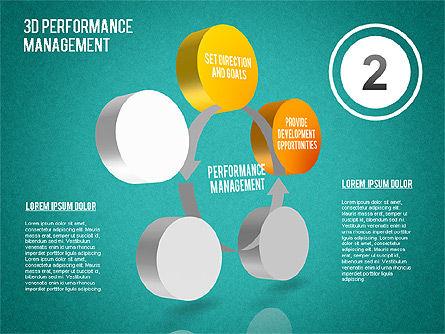 3D Performance Management Diagram, Slide 14, 01434, Business Models — PoweredTemplate.com