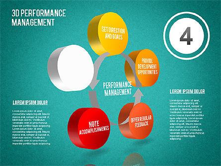 3D Performance Management Diagram, Slide 16, 01434, Business Models — PoweredTemplate.com