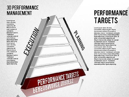 3D Performance Management Diagram, Slide 6, 01434, Business Models — PoweredTemplate.com
