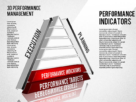 3D Performance Management Diagram, Slide 7, 01434, Business Models — PoweredTemplate.com
