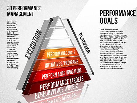 3D Performance Management Diagram, Slide 9, 01434, Business Models — PoweredTemplate.com