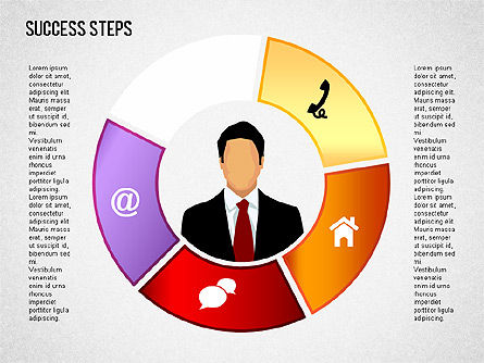 Success Development Diagram, Slide 11, 01435, Stage Diagrams — PoweredTemplate.com