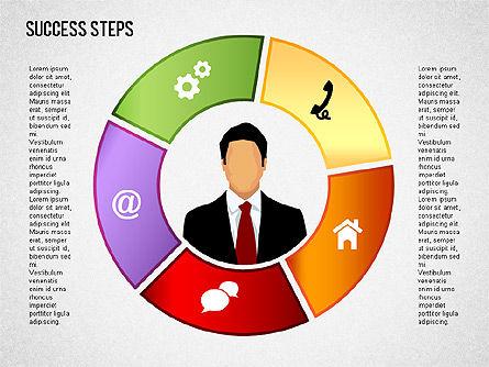 Success Development Diagram, Slide 12, 01435, Stage Diagrams — PoweredTemplate.com