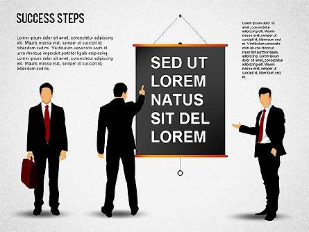 Success Development Diagram, Slide 13, 01435, Stage Diagrams — PoweredTemplate.com