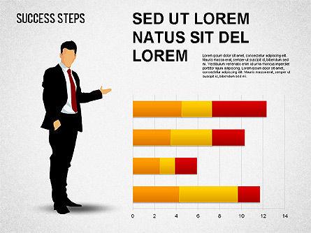 Success Development Diagram, Slide 14, 01435, Stage Diagrams — PoweredTemplate.com