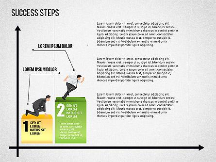 Success Development Diagram, Slide 2, 01435, Stage Diagrams — PoweredTemplate.com