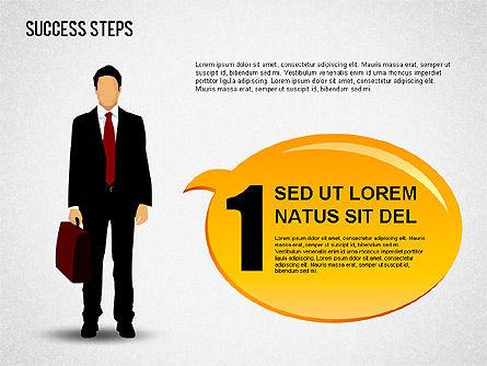 Success Development Diagram, Slide 7, 01435, Stage Diagrams — PoweredTemplate.com