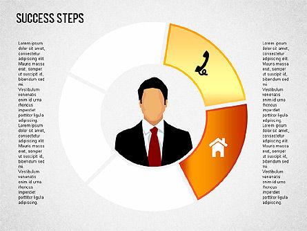 Success Development Diagram, Slide 9, 01435, Stage Diagrams — PoweredTemplate.com