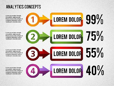 Analytics Concepts Charts, Slide 10, 01439, Business Models — PoweredTemplate.com