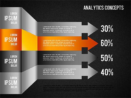 Analytics Concepts Charts, Slide 11, 01439, Business Models — PoweredTemplate.com
