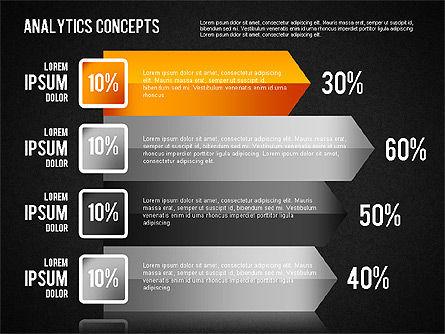 Analytics Concepts Charts, Slide 13, 01439, Business Models — PoweredTemplate.com