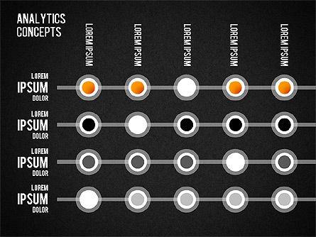 Analytics Concepts Charts, Slide 14, 01439, Business Models — PoweredTemplate.com