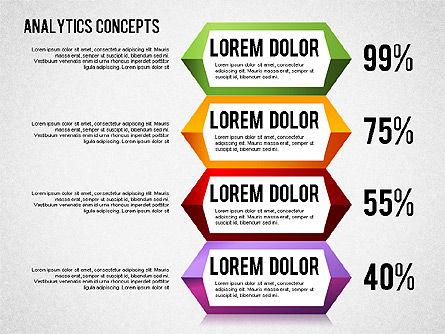 Analytics Concepts Charts, Slide 8, 01439, Business Models — PoweredTemplate.com