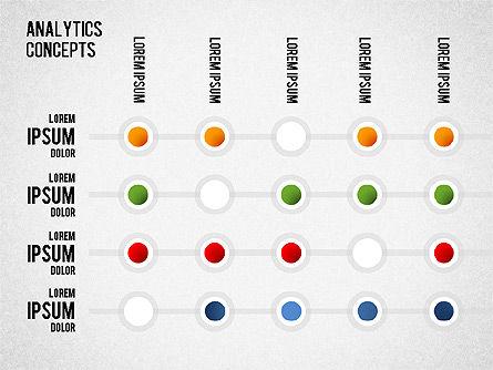 Analytics Concepts Charts, Slide 9, 01439, Business Models — PoweredTemplate.com