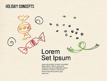 Holiday Concept Shapes, Slide 12, 01441, Shapes — PoweredTemplate.com