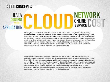 Word Cloud Diagram, Slide 11, 01443, Business Models — PoweredTemplate.com