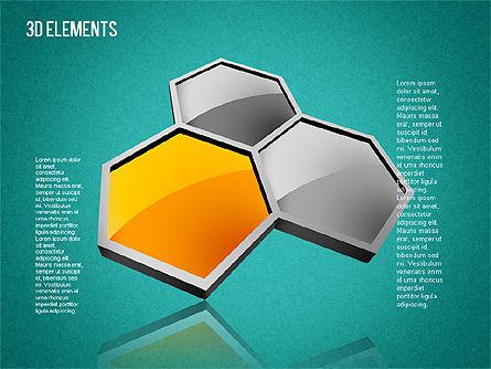 3D Shapes Toolbox, Slide 12, 01445, Shapes — PoweredTemplate.com