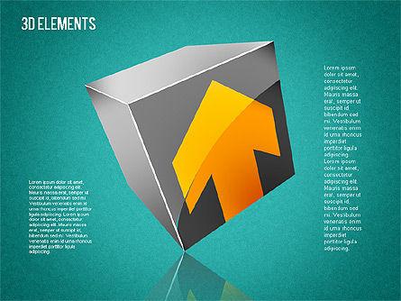3D Shapes Toolbox, Slide 15, 01445, Shapes — PoweredTemplate.com