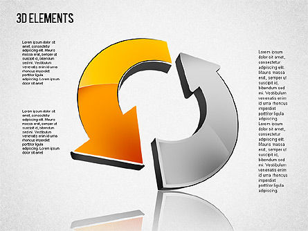 3D Shapes Toolbox, Slide 6, 01445, Shapes — PoweredTemplate.com