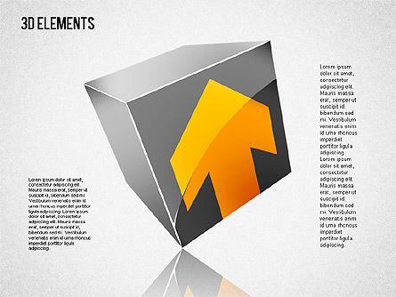 3D Shapes Toolbox, Slide 7, 01445, Shapes — PoweredTemplate.com