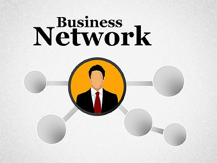 Business Network, 01447, Organizational Charts — PoweredTemplate.com